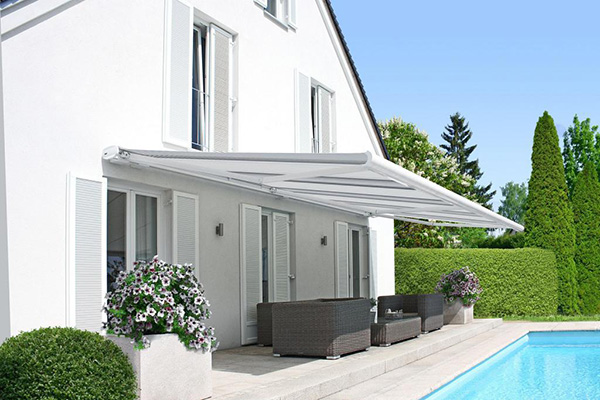 Awnings Q Exteriors Beat the Heat Offer