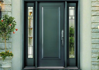 Door Steel Entry Custom Decorative Imperial Glass - Copy