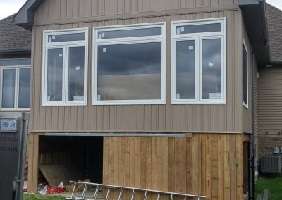 windows siding soffit fascia trough